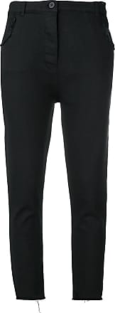 Thom Krom Calça jeans slim cropped - Preto