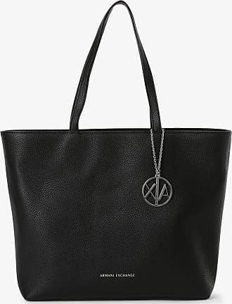 A|X Armani Exchange Damen Shopper schwarz