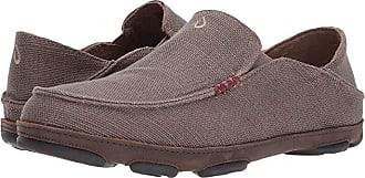 Olukai Moloa Kapa (Mustang/Dark Wood) Mens Shoes