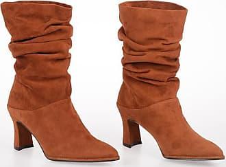 Stuart Weitzman 7cm Suede CRUSHMID Boots size 36,5