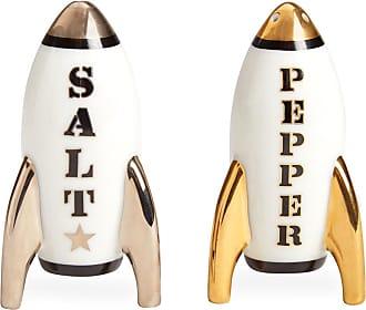 Jonathan Adler Apollo Salt & Pepper Shakers - Black/White