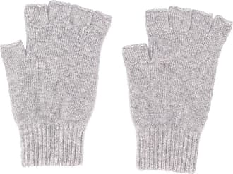 Pringle Of Scotland Par de luvas em tricô sem dedos - Cinza