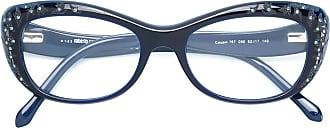 Roberto Cavalli Óculos de gatinho - Azul