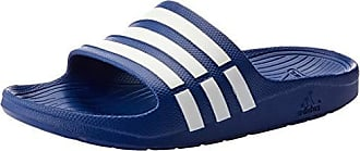 reputable site 4d6ac 1af47 adidas Adidas - Duramo Slide - Mules natation - Mixte adulte - Bleu (True  Blue