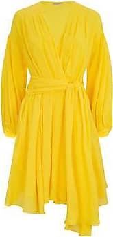 Three Graces London Carina Dress in Yellow