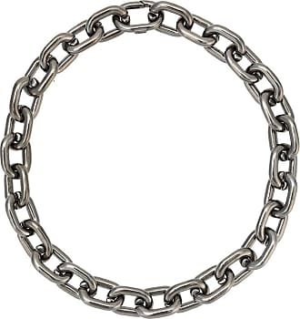 Jack Vartanian Colar Chain P prata com ródio negro - Prateado