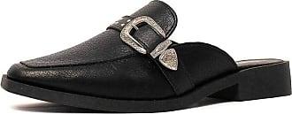 Damannu Shoes Mule Craquelê Kaya - Cor: Preto - Tamanho: 36