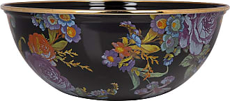 MacKenzie-Childs Flower Market Everyday Bowl - Black - Medium
