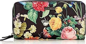 f2f2426a8c Gabor Granada Bloom - Portafogli Donna, Nero (Schwarz), 20x10.5x2.