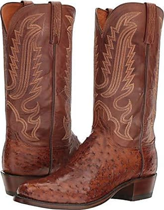 Men's Brown Lucchese Winter Shoes: 8