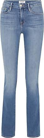 Frame Denim Le Mini High-rise Bootcut Jeans - Blue