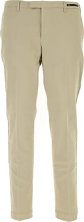 PT01 Pants for Men On Sale, Beige, Cotton, 2017, 34
