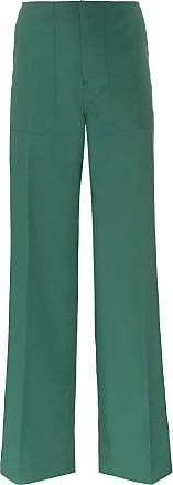 Plan C Calça pantalona de alfaiataria - Verde