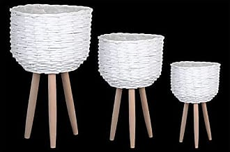 Urban Trends Collection s 16324 Basket, White