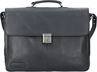 58620b8e8ebca Plevier Navigator Aktentasche Leder 44 cm Laptopfach
