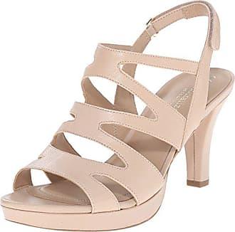 92bc79830b97 Naturalizer Womens Pressley Platform Dress Sandal Taupe 5 M US