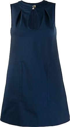 Blanca Vestido - Azul