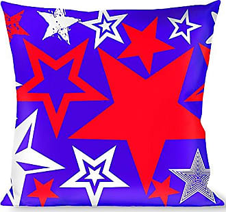 Buckle Down Pillow Decorative Throw Stargazer Blue White Red