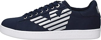 Emporio Armani EA7 Mens Sneakers Navy Blue Size: 10 UK