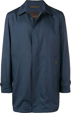 Moorer button up coat - Blue
