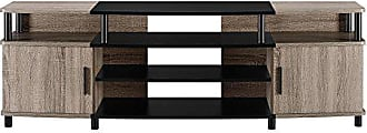 Dorel Home Products Ameriwood Home Carson TV Stand for TVs up to 70, Weathered Oak