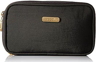 Baggallini VCS117G Vienna Cosmetic Case - Gold Hardware, Charcoal, One Size