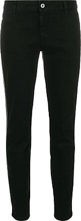 Just Cavalli Calça jeans skinny cintura baixa - Preto