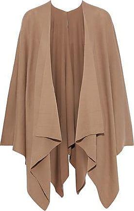 0a6fd724216 Elie Tahari Elie Tahari Woman Lovell Merino Wool Cape Light Brown Size M L