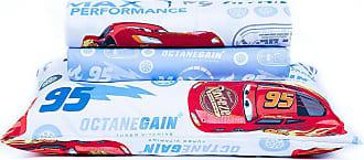 Disney Jogo de Lençol Infantil Microfibra 150 Fios Toque Aveludado Disney Cars Storm
