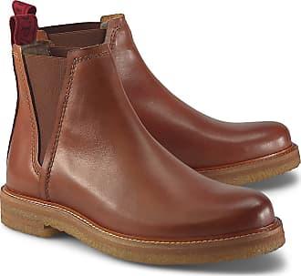 PERTINI DAMEN CHELSEA Boots Gr. 38 12 braun EUR 28,78