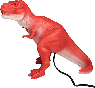 House of Disaster Red Realistic T-Rex Dinosaur Lamp - red | UK Plug - Red/Red