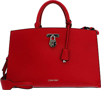 Calvin Klein Womens Dressed Business, Chili Pepper, OS Tote