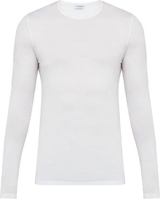 Zimmerli 700 Pureness Stretch-jersey T-shirt - Mens - White