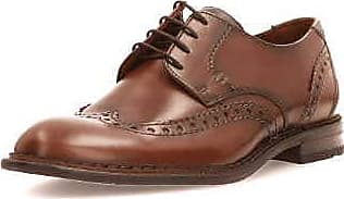 Stilvoll Lloyd Detroit Braun Kalbleder Derby Schuhe Herren