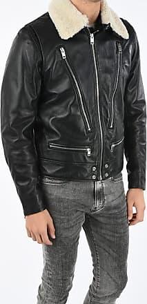 Diesel Leather L-NED Jacket Größe Xxl