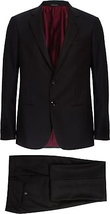 Giorgio Armani Costume de Lã Preto - Homem - 50 IT