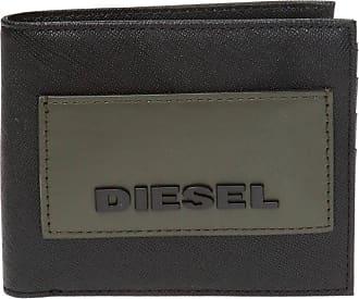 Diesel Folding Wallet With Logo Mens Black