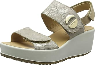 Igi & Co Womens DCD 31733 Platform Sandals, Beige (Platino 3173399), 4 UK
