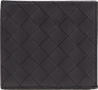 Bottega Veneta Intrecciato Leather Zip-around Wallet - Mens - Black