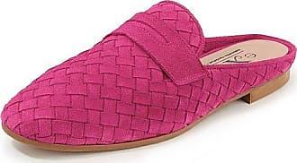 Peter Hahn Flecht-Pantolette Peter Hahn exquisit pink