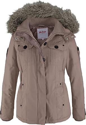 John Baner Jeanswear Winterjacke langarm in braun von bonprix 9cae9a83e8