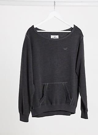 Hollister Lässiges Sweatshirt mit Rundhalsausschnitt-Grau