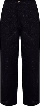 Etro Creased Trousers Womens Black