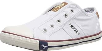 Mustang Womens 1099-401-1 Slip On Trainers, White (1 Weiß), 6.5 UK/40 EU