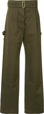 Dion Lee utility trousers - Green