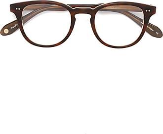 Garrett Leight McKinley glasses - Marrom