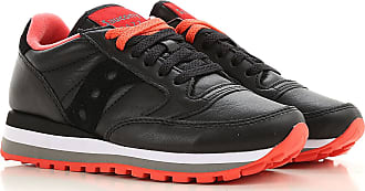 Saucony Sneakers for Women On Sale, Black, Leather, 2019, 6