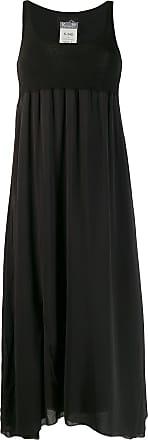 Kristensen Du Nord sleeveless flared midi dress - Preto