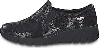 Jana Womens 8-8-24701-25 Loafer, Black Structure, 6.5 UK