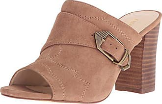 12d3804fdb Nine West Womens Betty Suede Mule Natural 10 M US
